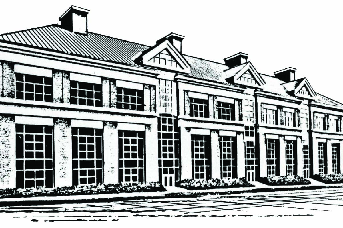 Sketch of the FAPC building